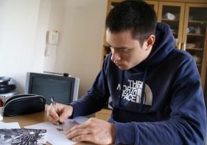 第8回 林 コンラッド 倉永 (23) 絵描き、学生