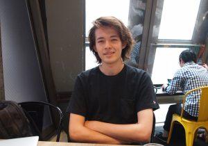 第38回 長谷川カラム (19) 学生、映像作家