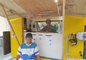 第46回 松本光貴(21)・山中真太朗(22) 大学生・フードトラック『Fresh Sound Store』店主