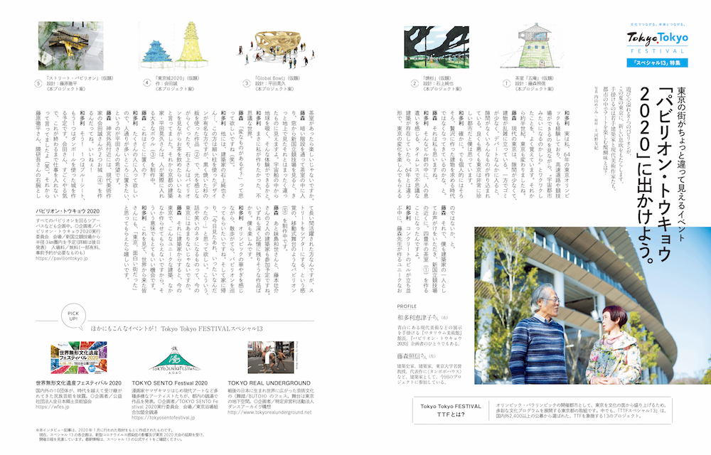 Tokyo Tokyo FESTIVAL(以下、TTFと表記)